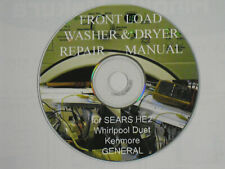 How to repair Washer and Dryer /SEARS Kenmore HE2, Whirlpool duet,