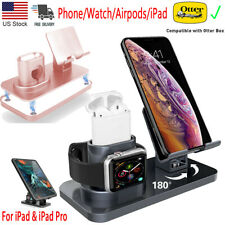 3 in 1 Charging Station Stand Charger Dock For iPhone iPad Apple Watch Air Pods