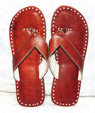 INDIAN RAJASTHANI ETHNIC LEATHER PARTYWEAR SLIPPER FOOTWEAR SANDAL SHOES THONGS