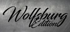 Aufkleber Wolfsburg Edition Auto Style Sticker Tuning Racing JDM LKW GTI Golf