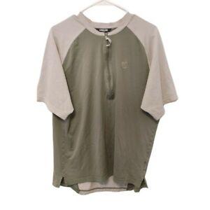 Pearl Izumi Mens Cycling Half Zip Jersey Shirt Green Back Pocket Size XL IQ