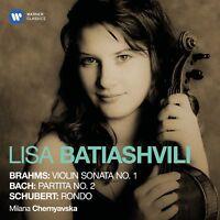 LISA BATIASHVILI - VIOLINSONATE 1/SOLOPART,2/RONDO  CD NEU