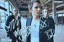 MUSE - Autogrammkarte - Signed Autograph Autogramm Fan Sammlung Clippings