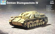1/72 German Sturmgeschütz IV (Trumpeter model kit  7261)