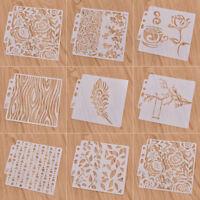 Scrapbooking Stempel Layering Wand Textil Schablonen Kawaii Weihnachten Deko Süß