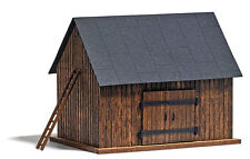 NEW  HO Busch # 1500 Small Weathered Wood Barn : Model Building KIT