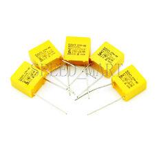 5 pcs Polypropylene Safety Capacitor 224K 275V 0.22UF 220NF Pitch 10mm