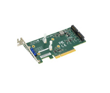 Supermicro AOC-SLG3-2M2 PCIe Add-On Card for up to two NVMe SSDs