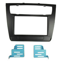 Double Din Fascia for BMW 1-Series E81 E82 E87 E88 Stereo Panel Trim Kit Frame