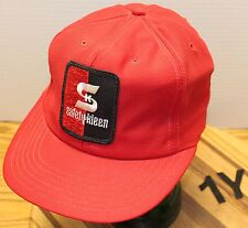 VINTAGE SAFETY KLEEN TRUCKERS STYLE HAT SNAPBACK ADJUSTABLE USA MADE VGC