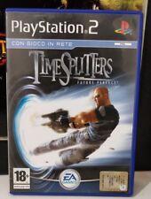 PS2 TIME SPLITTERS FUTURE PERFECT  ITALIANO COME NUOVO  PLAYSTATION 2 RARO ITA,