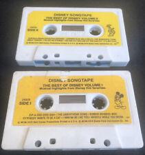 Rare Disney Song Tape Songtape Best Of Vol I & Ii Cassette Walt Album
