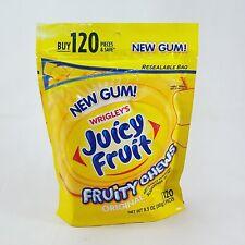 JUICY FRUIT Fruity Chews Sugarfree Gum - 8.5 oz - 120 pc - Original Flavor