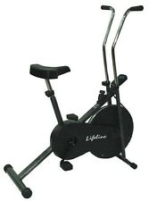 Lifeline Branded 102 cycle home gym fitness cardio air bike electronic display