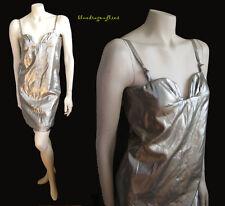 OSCAR DE LA RENTA Sexy Little Metallic SHEATH DRESS