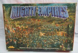 Original GW MIGHTY EMPIRES -  Warhammer world Boardgame 2-3 players 1990
