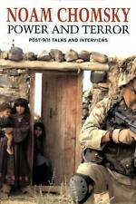 """""""AS NEW"""" Power And Terror: Post 9-11 Talks and Interviews, Chomsky, Noam, Book"""