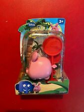 DISNEY JUNGLE JUNCTION FAMOSA GIOCATTOLO MAIALE PIG (2011) + BOX Modellino NUOVO