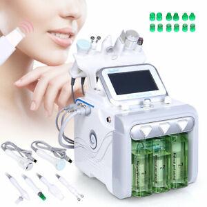 6in1 Hydra Water Peeling Diamond Dermabrasion RF Ultrasonic Spray Beauty Machine