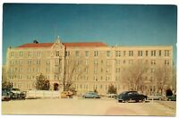 Amarillo Texas Postcard St. Anthony's Hospital Street View 1950's #76981