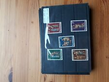 timbre luxembourg (th) lot33   neufs   n821/5    caritas     nativite