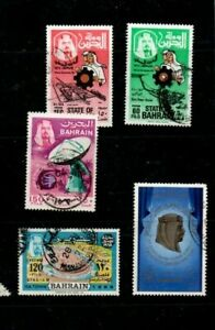 A good Cat Value group of 5 Bahrain issues