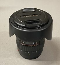 Tokina AT-X PRO 12-24mm f/4 II DX AF Lens For Canon - Excellent Condition