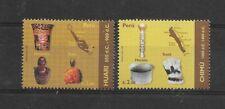 Peru 2009, HUARI & CHIMU CULTURE, PRE COLOMBINE CULTURES, 2 VALUES SCOTT 1700-1