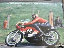 S0246-PHOTO- JOS SCHURGERS BRIDGESTONE 125 CC RAALTE 1973 NO 22 MOTO HEUGA