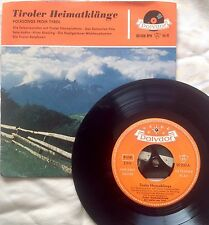 Tiroler Heimatklange Folksongs From Tyrol (Polydor 20 208 EPH) NM Austrian Folk