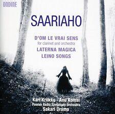 Anu Komsi, Kaija Saa - D'om Le Vrai Sens & Laterna Magica & Leino Songs [New CD]
