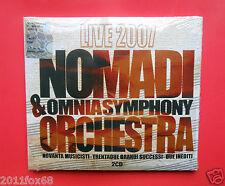 rare cds nomadi & omnia symphony orchestra live 2007 i nomadi 2 cd io vagabondo