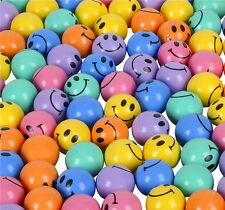 72 SMILEY SUPERBALLS, HIGH BOUNCE BALLS, SMILE, LOW PRICE SUPER FAST SHIPPING!!