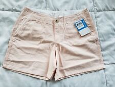 Women's Columbia Solar Fade Shorts Sz 6x6 Outdoors Casual Walking Peach
