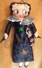 "Vtg Betty Boop Halloween Doll 1994 15"" Tall"
