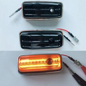 LED Side Marker Indicators Smoke Turn Signal Lights Fits Mercedes Benz G W463
