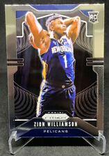2019-20 PANINI PRIZM BASKETBALL ZION WILLIAMSON RC ROOKIE BASE #248 PELICANS