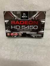 XFX AMD Radeon HD 5450 HD-545X-ZQ 1GB DDR3 Graphics Card HDMI DVI VGA