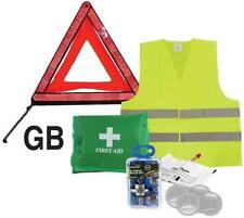 Selection of Universal Break Down European Travel Holiday Safety Kit Items Bulbs