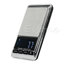 Hot Portable 500g x 0.01g Digital Scale Electronic Mini Jewelry Pocket Gram LCD