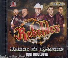 Los Nuevos Rebeldes CD NEW Desde El Rancho Con Tololoche ALBUM Nuevo SEALED