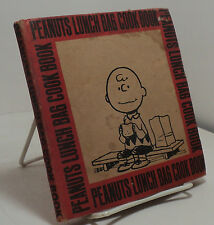 Peanuts Lunch Bag Cook Book by Charles M Schulz & June Dutton - with dustjacket
