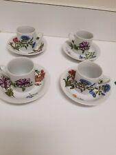 BIA Cordon Bleu 3oz Mini Expresso Cup Saucer Set of 4 - Caroline Demitasse
