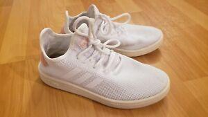 Adidas Cloudfoam Comfort Womens White Athletic Shoes Sz 7