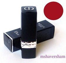 NIB Christian Dior Rouge Dior Couture Colour Lipstick 743 ROUGE ZINNIA