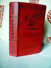 GUIDE - MICHELIN 1958 - FRANCE < ORIGINAL 910 PAGES >EN TRES BON  ETAT .