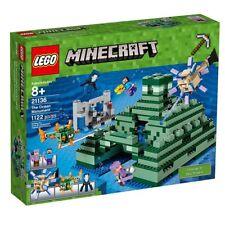 LEGO Minecraft: The Ocean Monument 21136 Kit [Building Toys, Kids, 1122 Pcs] NEW
