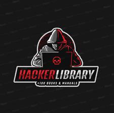 HACKING LIBRARY +100 LIBRI GUIDE E MANUALI ! TUTTE LE TECNICHE DEGLI HACKERS!