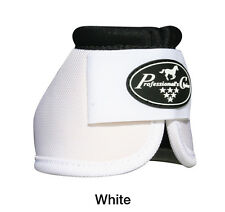 Professional's Choice White Ballistic Overreach bell boots Prof Large L No Turn