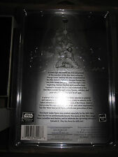 STAR WARS DARTH VADER FIGURE SILVER 2002 TOY FAIR RARE MOC MINT SEALED STARCASE